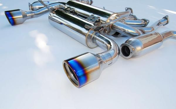 350z exhaust system