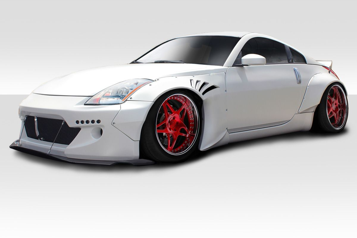 Nissan 350Z Upgrades